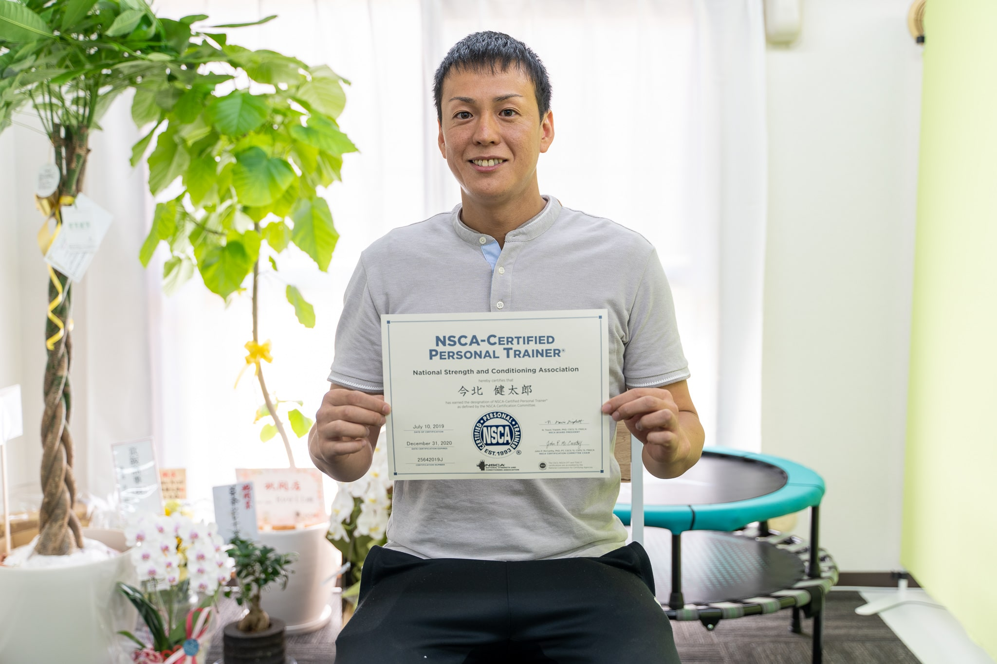 NSCA-CPT資格取得今北さん