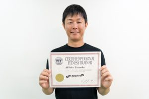 NSCA-CPT資格合格安陵さん